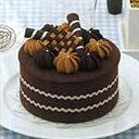 チョコレートケーキ デコレーション 画像