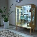 コレクションボード 完成品 幅75cm コレクションケース コレクションケース 背面ミラー キュリオケース コレクションボックス フィギア ケース コレクションラック 飾棚 ガラスケース ガラスショーケース