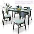 【家具】 幅140cm ダイニング5点セット ダイニングテーブルセット ダイニングセット ダイニング 食卓テーブル セット ダイニングチェア 食卓セット シンプル 4人掛け 4人用 テーブル いす イス 椅子 4脚 木製