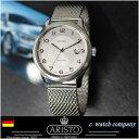 ドイツ製 アリスト Aristo 4H120 ミラネーゼブレス ドイツ時計 自動巻き パイロットウォッチ aristomatic SW200