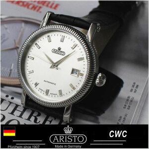 ETA2824アリストAristoドイツ時計自動巻きパイロットウォッチ4H136