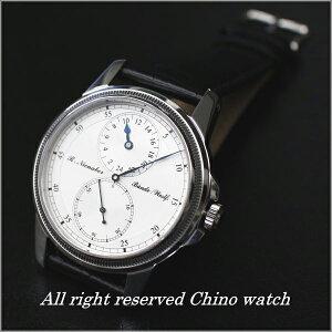 【ドイツ注文品】レギュレーターVersion2手巻き24時間表示腕時計時計