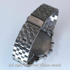 ドイツ時計BocciaTitanium3755-02クォーツクロノグラフ