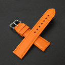 20 millimeters of belt orange watch clocks [easy  _ packing] for rubber (natural rubber) sports watches made in Italy [comfortable  _ expands]