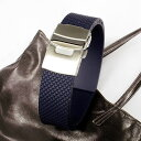 A watch clock [easy  _ packing] made by rubber   D buckle model dark blue nature rubber made in 20 millimeters of 22 millimeters of Italy [comfortable  _ expands]