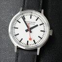 MONDAINEモンディーンstop2goMST.4101B.LB鉄道時計腕時計時計メンズブランド
