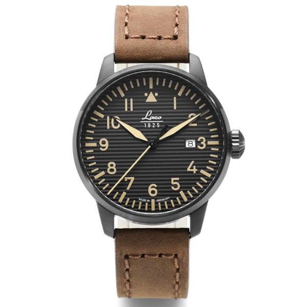 ラコ 腕時計 Laco 861973 St.Gallen パイロット クォーツ カード分割 ◎代理店注文品≪ 正規代理店品 ≫ドイツ製 メンズ腕時計
