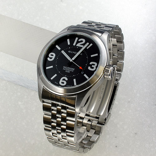 10 ATM water resistant self-winding GLYCINE INCLUSORE automatic self-winding 3849 19S watch watches
