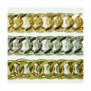 真鍮チェーン B-1138 1m ゴールド ロジウム シルバー アンティーク 古美 メッキ 真鍮 金 鎖 ハンドメイド