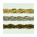 真鍮チェーン B-998 1m ゴールド ロジウム シルバー アンティーク 古美 メッキ 真鍮 金 鎖 ハンドメイド