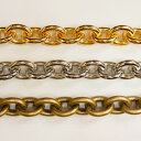 アルミチェーン AL-121 1m ゴールド ロジウム シルバー アンティーク 古美 メッキ アルミニウム アルマイト 金 鎖 ハンドメイド