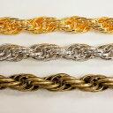 アルミチェーン AL-147 1m ゴールド ロジウム シルバー アンティーク 古美 メッキ アルミニウム アルマイト 金 鎖 ハンドメイド
