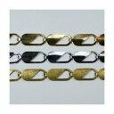 真鍮チェーン BS-713 1m ゴールド ロジウム シルバー アンティーク 古美 メッキ 真鍮 金 鎖 ハンドメイド