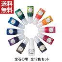 【ネコポス送料無料】パジコ UVレジン 着色剤 宝石の雫 12色セット PADICO