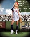 送料無料 Dream girl(ドリームガール) ベースボールガールコスチューム (レディース衣装 コスプレ用) 野球のユニフォーム風ドレス ハロウィンのコスチューム 仮装グッズ DG-6469