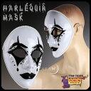 マスク 仮面 お面 ピエロ 白 ハロウィン 仮装 変装グッズ FRM-76389