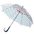 【メーカー公式ストア】Evereon傘 ドット ★Newハンドル 60cm 雨傘 かさ カサ umbrella アンブレラ ビニール ビニール傘 グラスファイバー 強風 婦人傘 雨具 サビにくい プラスチック おしゃれ かわいい 梅雨 レディース