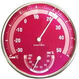 アナログ温湿度計 ピンク DRETEC[ドリテック] 【手作り石鹸/温度計/湿度計】【あす楽対応本州・四国】【RCP】
