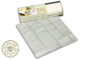 Design wax paper Clem-Blanc English pattern