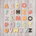 ケーキデコレーション用【アルファベットクッキー】アイシングクッキークッキーアルファベットイニシャルデコレーションケーキオリジナルケーキ