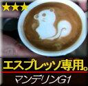 ■送料無料■【エスプレッソ用】マンデリンG−1 生豆時450g(焙煎後360g前後)