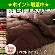 9色から選べる!羽毛布団 ダックタイプ 8点セット ベッドタイプ クイーン [00]