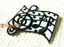 MusicNote/スコア/ト音記号/楽譜/音譜/音楽/楽器/歌/曲/部活/習い事/吹奏楽部/モノトーン/モノクロ/入園/入学/女の子/男の子/かわいい/ハンドメイド/雑貨/刺繍ワッペン/アイロン接着/リメイク/デコ/アップリケ/CaJu+NiC