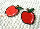 プチりんご2個セット/果物/フルーツ/レトロ/入園/入学/女...