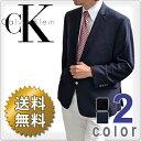 CalvinKlein カルバンクライン メンズ 2ボタン ブレザー ジャケット(2色展開)(Men's Mavin Blazer)7WX0001[ネイビーブラ...