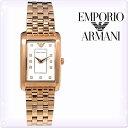 【新品】エンポリオアルマーニ 時計[EMPORIO ARMANI]エンポリオアルマーニ レディース 腕時計 マルコ スリム (Marco Slim) ホワイト/ピンクゴールド [AR1906][白 ホワイト ゴールド 金][エンポリ うでどけい ウォッチ 時計][送料無料]ブランド