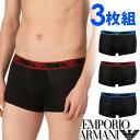ショッピングアルマーニ EMPORIO ARMANI エンポリオアルマーニ メンズ コットン ボクサーパンツ 3枚セット