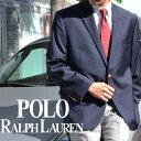 LAUREN BY RALPH LAUREN ラルフローレン メンズ 2ボタン ブレザー ネイビー(Men's Lewis Blazer NAVY)2NX0001[36/38/40/42/44/46/48/5..