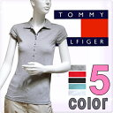 TOMMY HILFIGER トミーヒルフィガー レディース トミーフラッグポロシャツ 5色展開[グレー 赤 黒 青 ブルー 白 ホワイト][XS/S/M/L/XL][半袖 ショートスリーブ ティーシャツ][ヨーロッパ仕様][1653520590]大きいサイズ ブランド[送料無料]