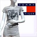 "TOMMY HILFIGER DENIM トミーヒルフィガー デニム レディース ""マーキーラモーンコラボ"" ロックシーン Tシャツ 半袖Tシャツ トップス ライトグレー ラーモンズ バンドTシャツ(Women'sNoefka T-shirts)[XS/S/M/L/XL][ヨーロッパ仕様][1656216308]大きいサイズ ブランド"