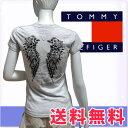 "TOMMY HILFIGER DENIM トミーヒルフィガー デニム レディース""ノア""VネックTシャツ グレーヘザー(Women's NOOR VN T-shirts)[XS/S/M/L/XL][半袖Tシャツ ショートスリーブ][ヨーロッパ仕様][1656216215]大きいサイズ ブランド"