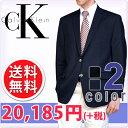 CalvinKlein カルバンクライン メンズ 2ボタン ブレザー ジャケット(2色展開)(Men's Blazer)[ネイビーブラック][紺ブレザー 紺ブレ フォーマルウェア 黒ブレザー ck]大きいサイズ[送料無料]ブランド 春 秋 冬