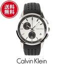 Calvin Klein カルバンクライン メンズ 腕時計 ウォッチ シルバー ブラック CK FR...
