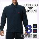 EMPORIO ARMANI[エンポリオアルマーニ]メンズ ロゴ ジップアップ トラックジャケット ジャ