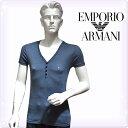 【送料無料】【あす楽】エンポリオアルマーニ tシャツ[EMPORIO ARMAN]メンズ 下着アルマーニ tシャツ ボーダー ストライプ ブランド 大きいサイズ