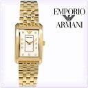 【新品】エンポリオアルマーニ 時計[EMPORIO ARMANI]エンポリオアルマーニ レディース 腕時計 マルコ スリム (Marco Slim) ホワイトシェル/ゴールド [AR1904][白 ゴールド 金][エンポリ うでどけい ウォッチ 時計][送料無料]ブランド