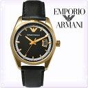 【送料無料】【あす楽】【新品】エンポリオアルマーニ メンズ 腕時計 エンポリ 時計 防水 ウォッチ クオーツ時計アナログ 腕時計アルマーニ emporio armani Sportivo 金 ブラック
