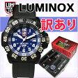 【訳あり品】LUMINOX[ルミノックス]スコットキャセル スペシャルエディション 黒×ディープブルー[3054]アナログ ミリタリーウォッチ 腕時計 メンズ レディース