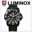 LUMINOX[ルミノックス]ネイビーシールズ ダイブウォッチ カラーマーク 7050 シリーズ 7051 黒×白[Navy SEALs DIVE WATCH]アナログ ダイバーズウォッチ 腕時計 メンズ レディース