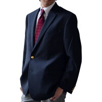 LAURENBYRALPHLAUREN���ե?�����2�ܥ���֥쥶���ͥ��ӡ�(Men'sLewisBlazerNAVY)2NX0001[36/38/40/42/44/46/48][����㥱�åȺ��֥쥶���ե����ޥ륦����][���ե?���֥쥶������][����̵��]�礭���������֥��ɽս���