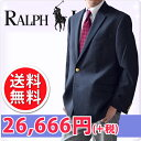 LAUREN BY RALPH LAUREN ラルフローレン メンズ 2ボタン ブレザー ジャケット ネイビー(Men's Blazer NAVY)[紺ブレザ…