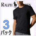 POLO RALPH LAUREN ポロ ラルフローレン tシャツ メンズ クルーネック 3枚セット ラルフローレンTシャツ ラルフtシャツ [LCCN]