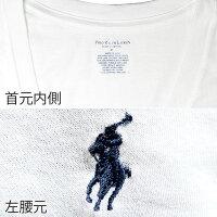 POLORALPHLAURENポロラルフローレンメンズクラシックコットンVネック半袖Tシャツ3枚セット[ホワイト/白][S/M/L/XL][ポロ・ラルフローレンラルフローレンtシャツ下着肌着アンダーウエアインナー][5,400円以上で送料無料]大きいサイズブランド