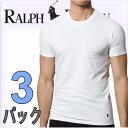 POLO RALPH LAUREN ポロ ラルフローレン tシャツ メンズ クルーネック 3枚セット スリムフィット ラルフローレンTシャツ[LSCN]