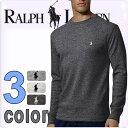POLO RALPH LAUREN ポロ ラルフローレン メンズ サーマル 長袖Tシャツ 3色展開[灰色 グレー][S/M/L/XL/XXL][ポロ・ラルフローレン ラルフローレン tシャツ 下着 インナー サーマル シャツ サーマル ロンt ワッフル]大きいサイズ[5,400円以上で送料無料][P551G]ブランド