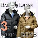 POLO RALPH LAUREN boys ポロ ラルフローレン ボーイズ ダウン ジャケット フード エルムウッド パファー ブルソン (3色展開)[M/L/XL][レディース メンズ ユニセックス 男女兼用][ラルフローレン アウター 上着][5,400円以上で送料無料][323161890]大きいサイズ ブランド